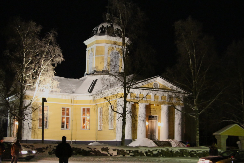 oravais kyrka