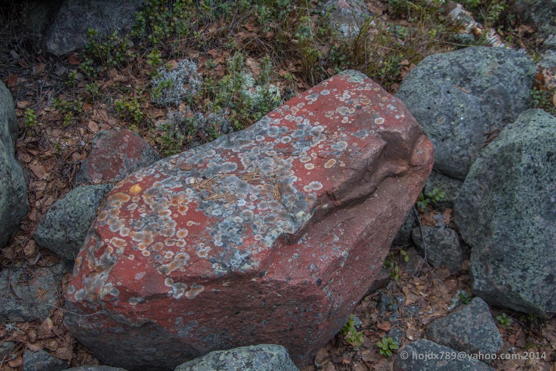 röd sten