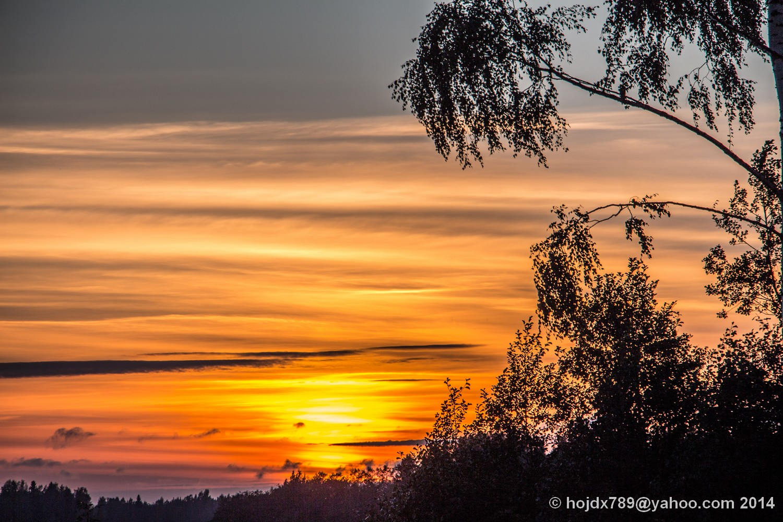 solnedgång i Malakton