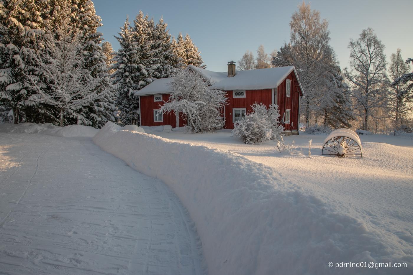 Vinter i Oxkangar