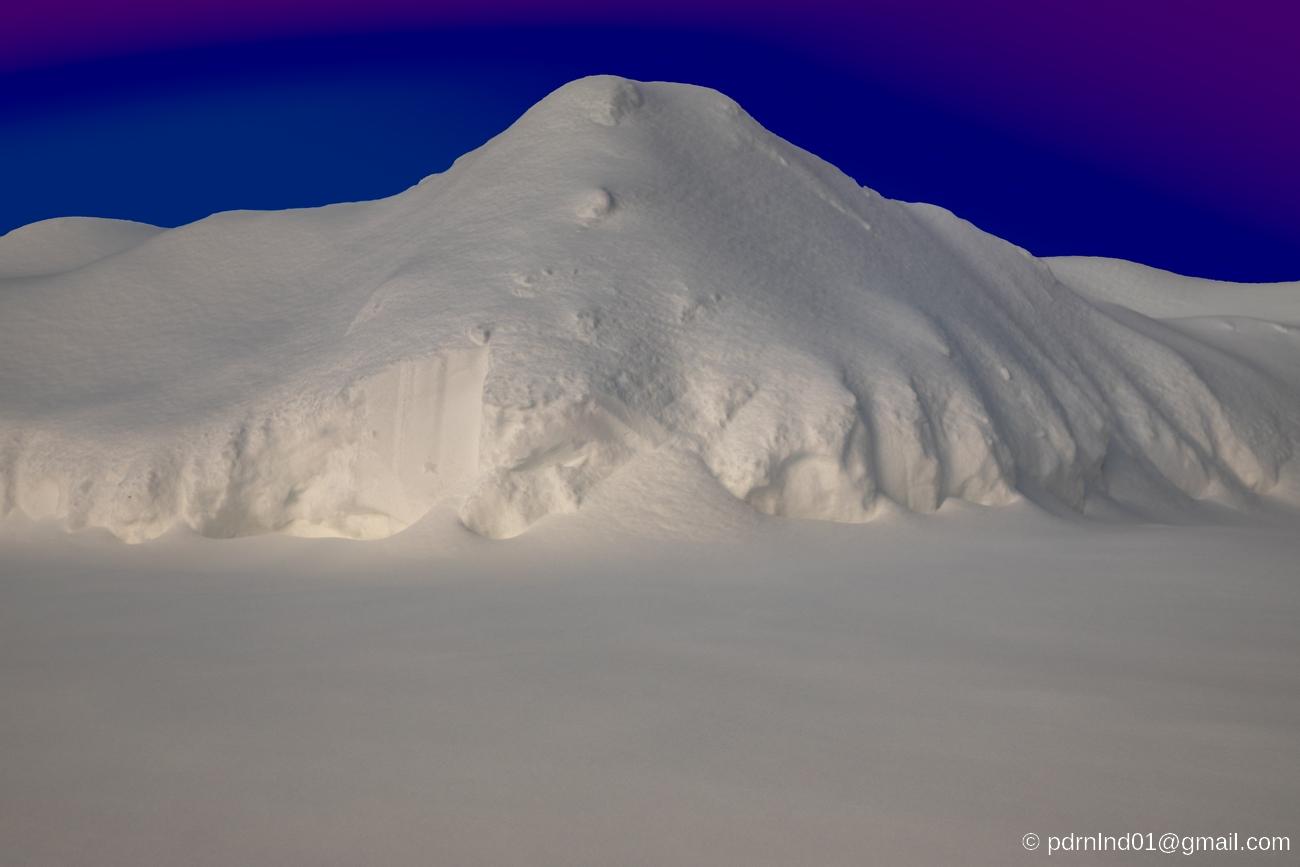 Snöhättan, fjället i Oxkangar