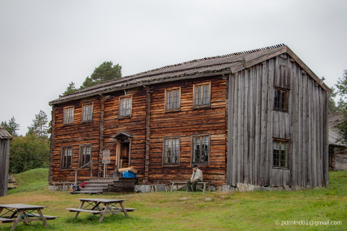 Gammelgården i Myckelgensjö