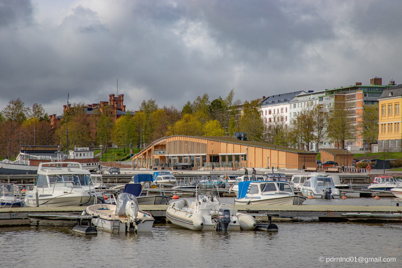 Fiskets hus i Vasa