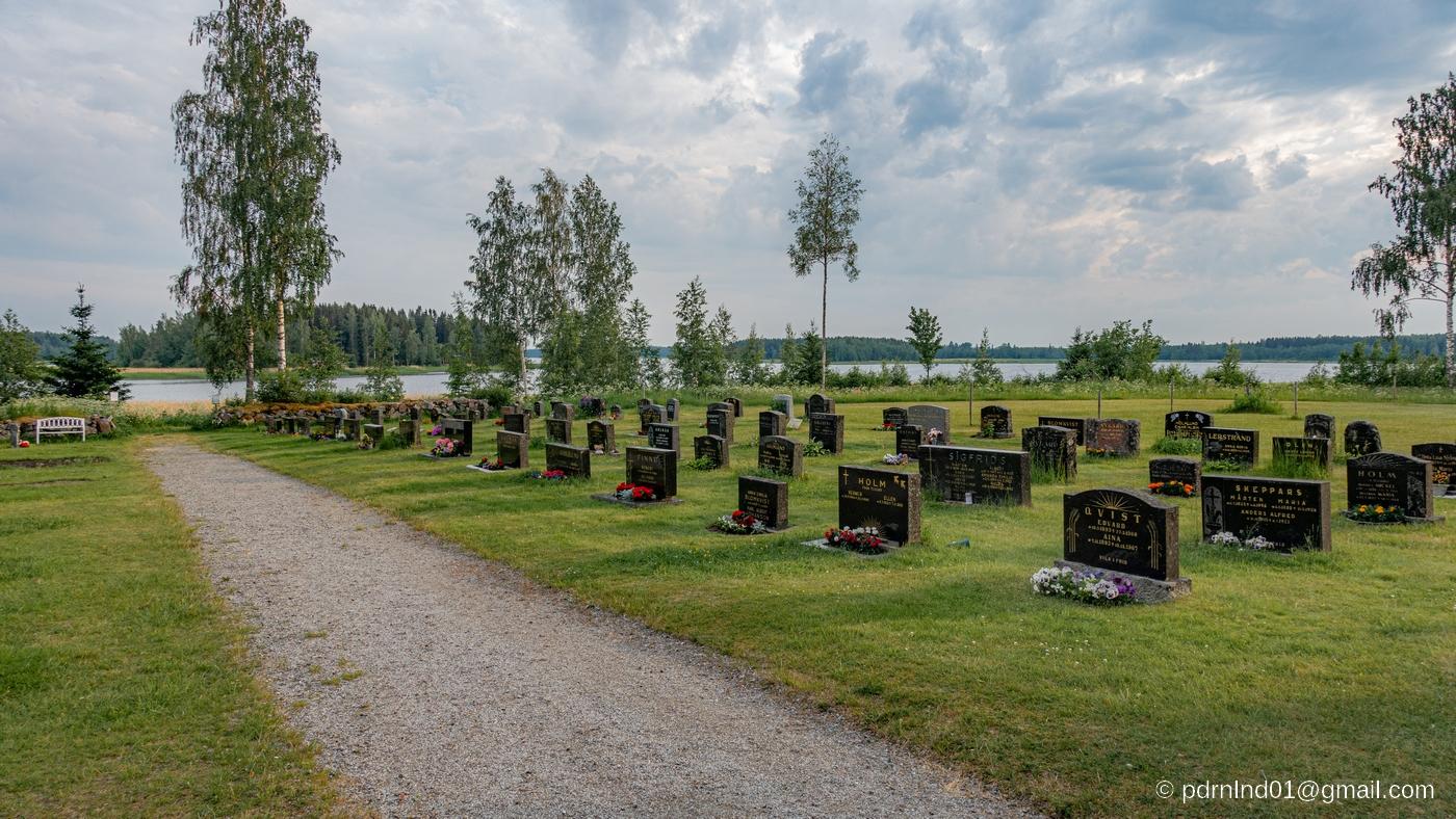 begravninsplats i Oxkangar