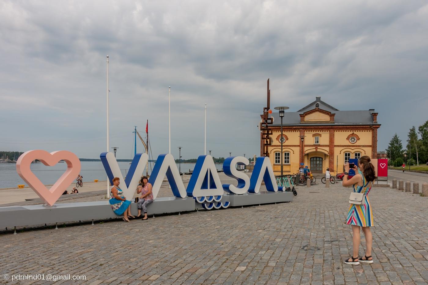 Inre hamnen i Vasa