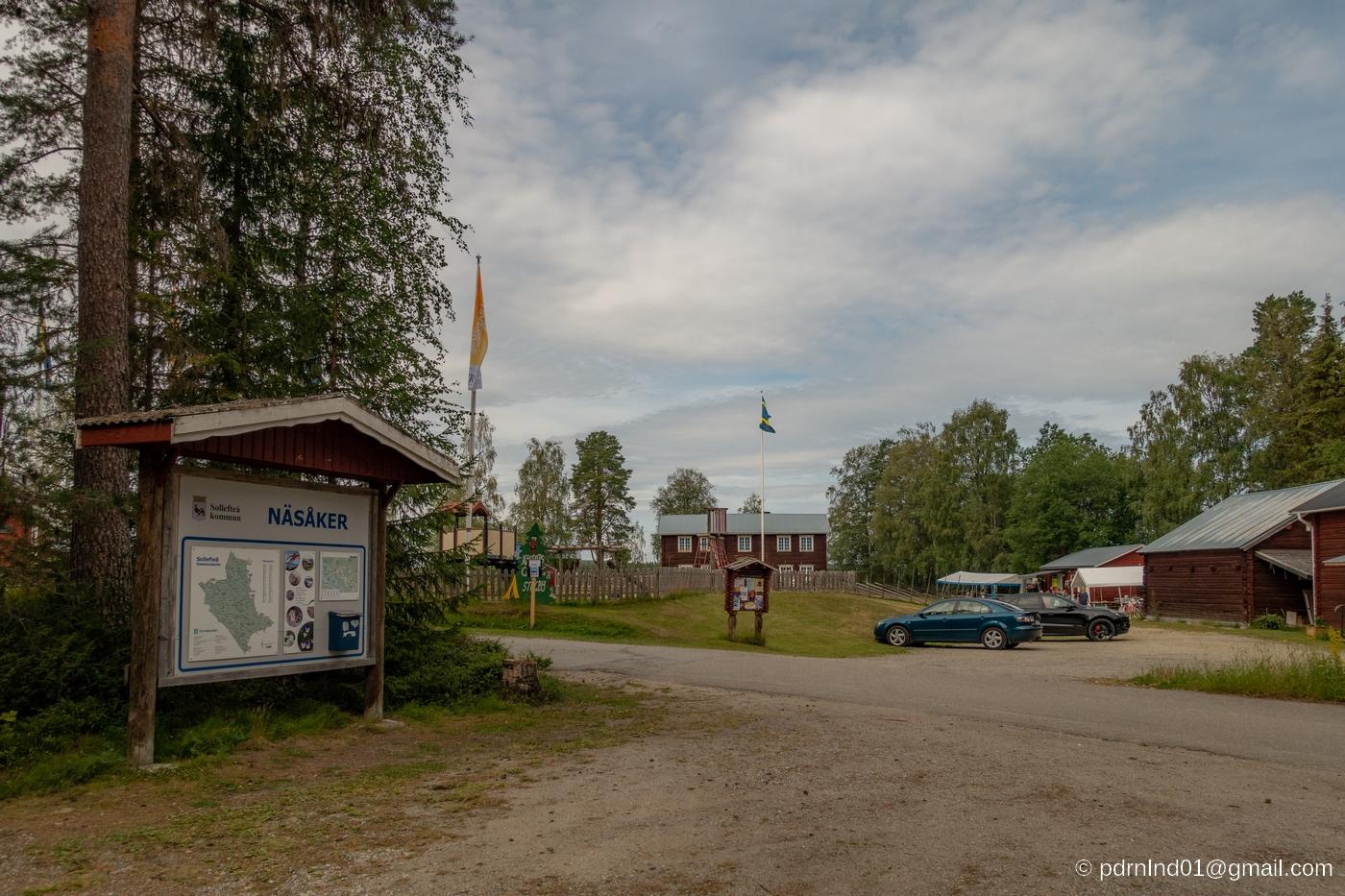 Hembygdsgården i Näsåker