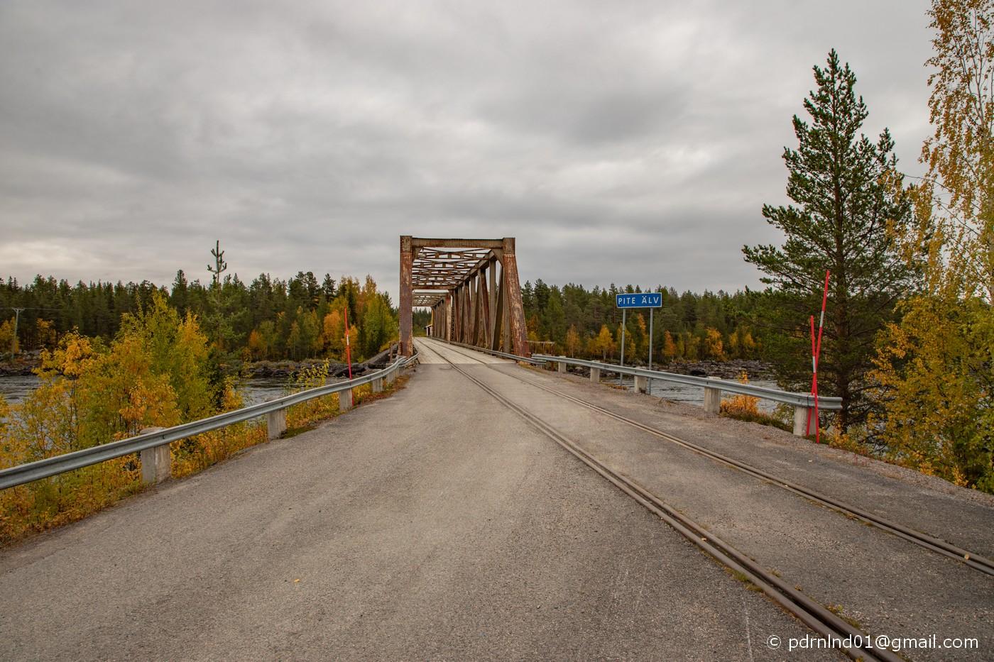 Bro över Piteälv